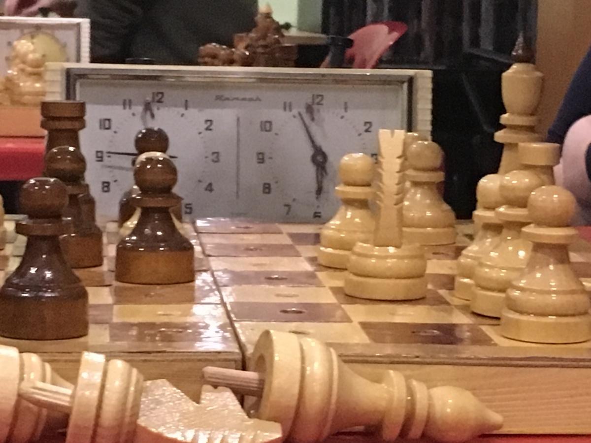 Первый этап турнира по шахматам на кубок РООИЗ «ТИФЛОПУТЬ» в 2018 год