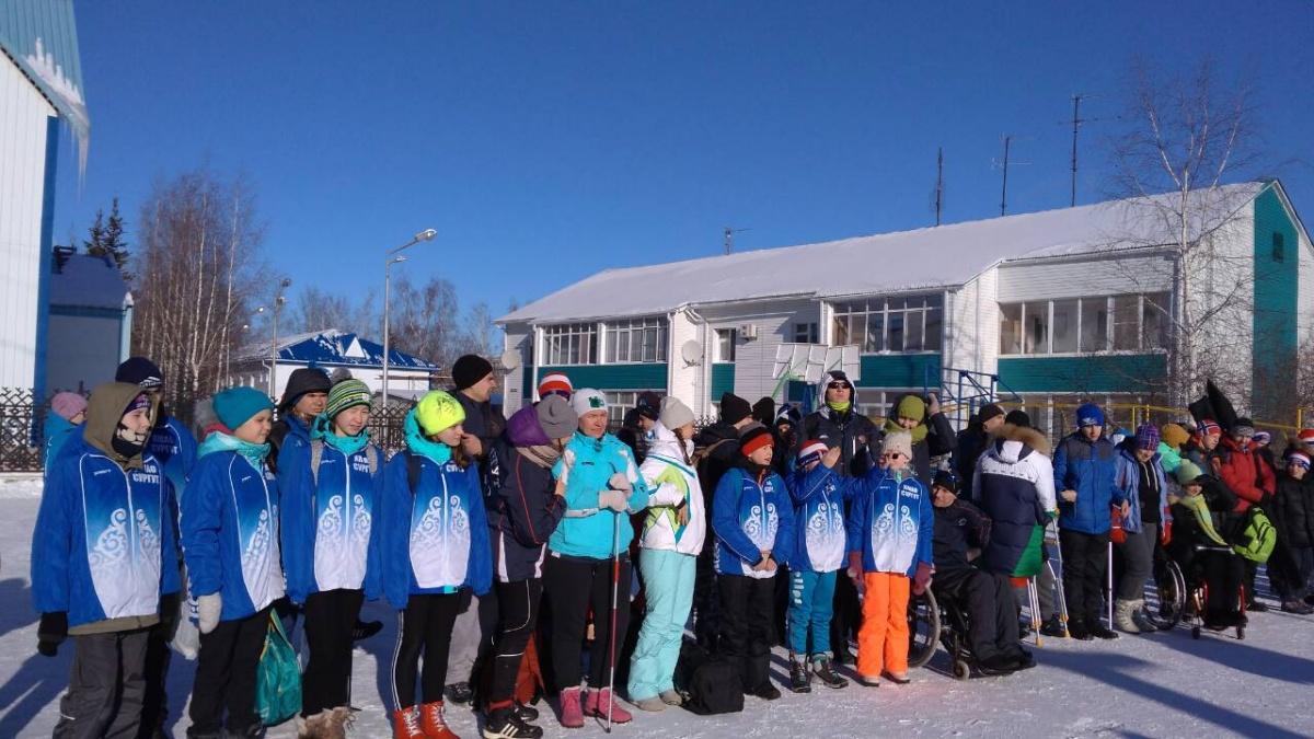 Чемпионат и первенство по лыжным гонкам в зачет Параспартакиады и Сурдспартакиады Югры