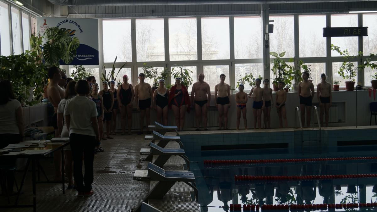 Чемпионат и первенство по плаванию среди инвалидов города Сургута