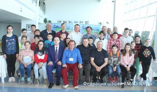 Открытый личный чемпионат ХМАО-Югры по русским шашкам среди мужчин и женщин 2018