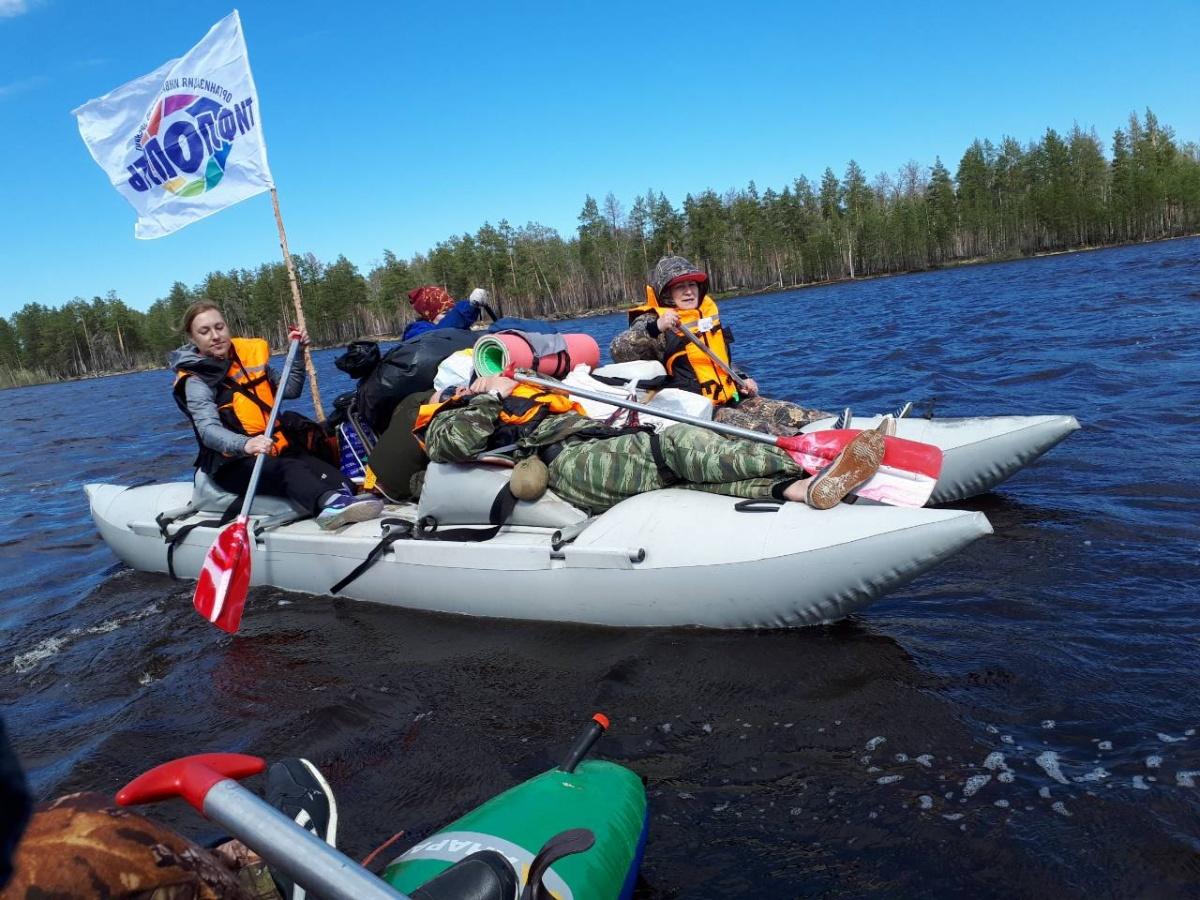 Учебно-тренировочный сбор, в форме туристкого водного похода выходного дня
