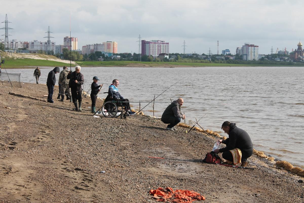 Конкурс рыболовов-любителей среди инвалидов «Охота на рыбалку»