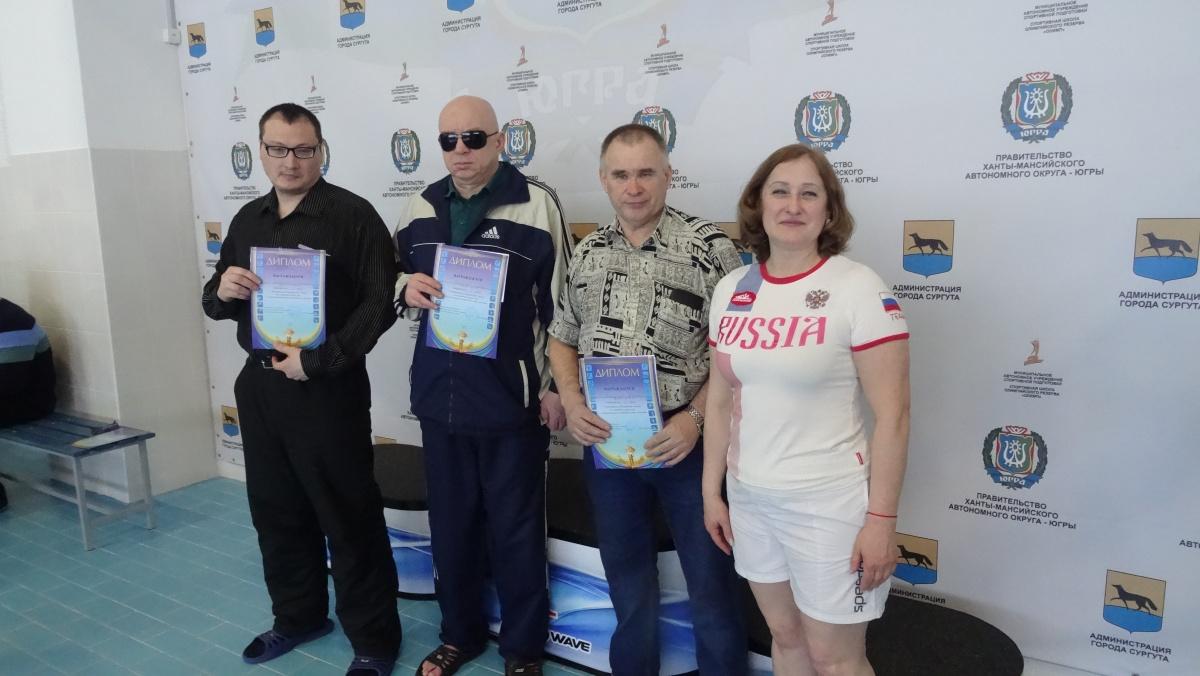 Городской турнир по плаванию среди инвалидов