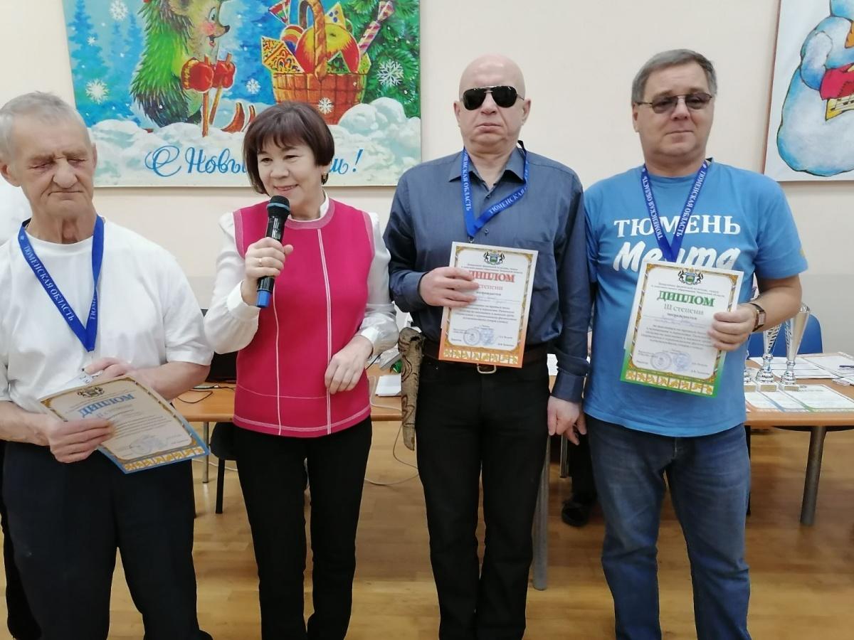 Чемпионат и первенство Тюменской области по шахматам и шашкам среди спортсменов с ограниченными физическими возможностями (спорт слепых) 2020